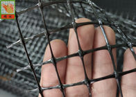 Black Deer Fence Netting، Deer Fence Netting، PP Materials with UV، 130GSM، 2.1 Meters High